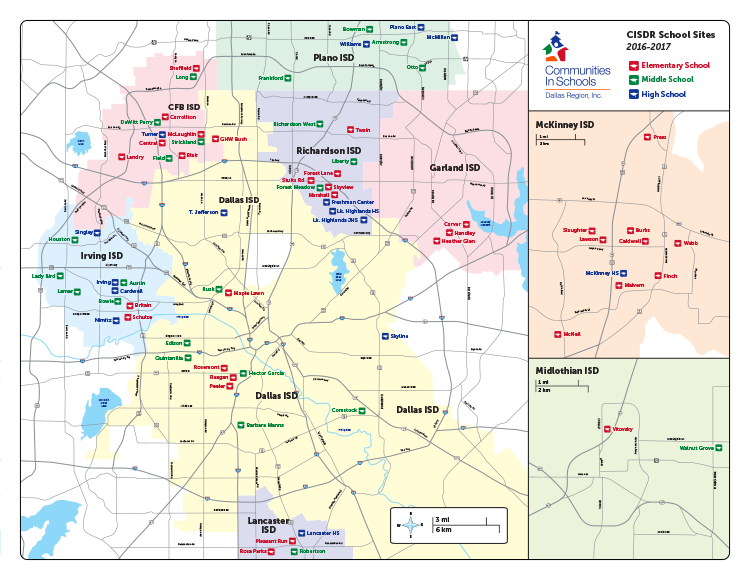 CISDR Map - Spring 2016