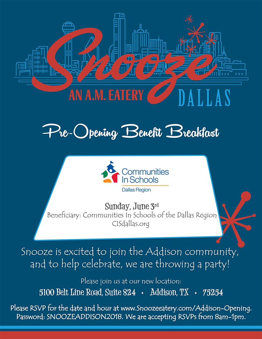 Join us at Snooze on June 3