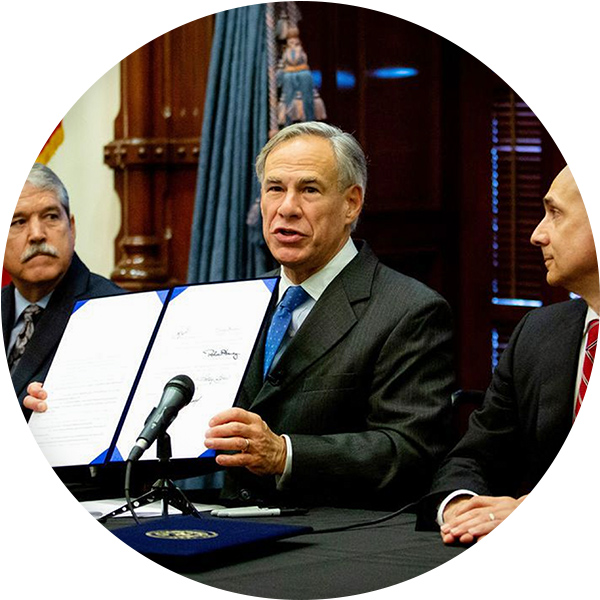 Texas Governor Signs School Safety Bill