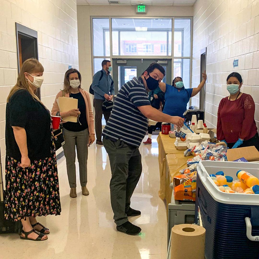 CISDR Hosts Breakfast For Adamson HS Teachers