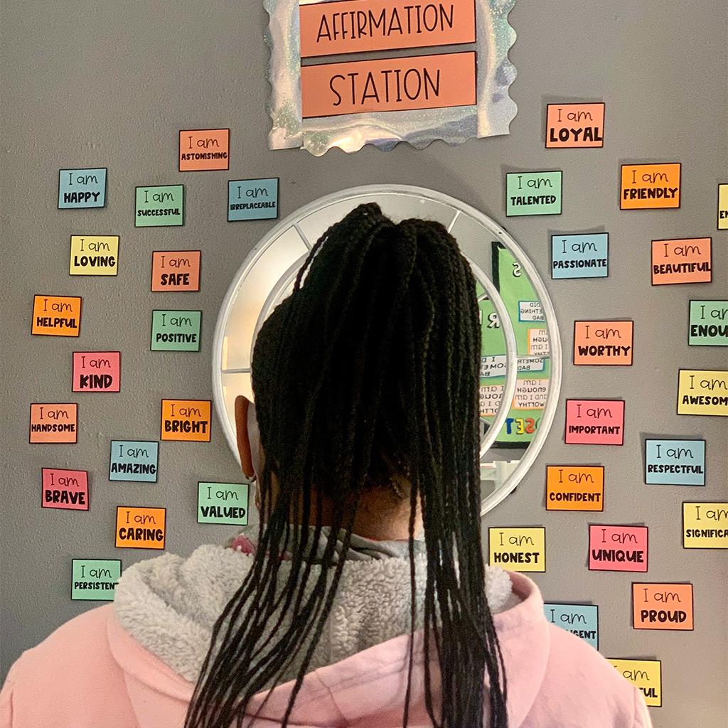 Affirmation Station Helps Build Self-Esteem
