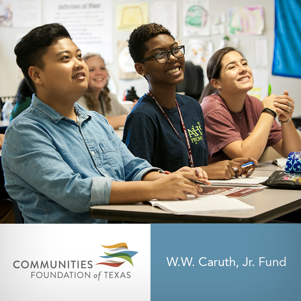 CISDR Receives $500,000 from W.W. Caruth Jr. Fund at CFT