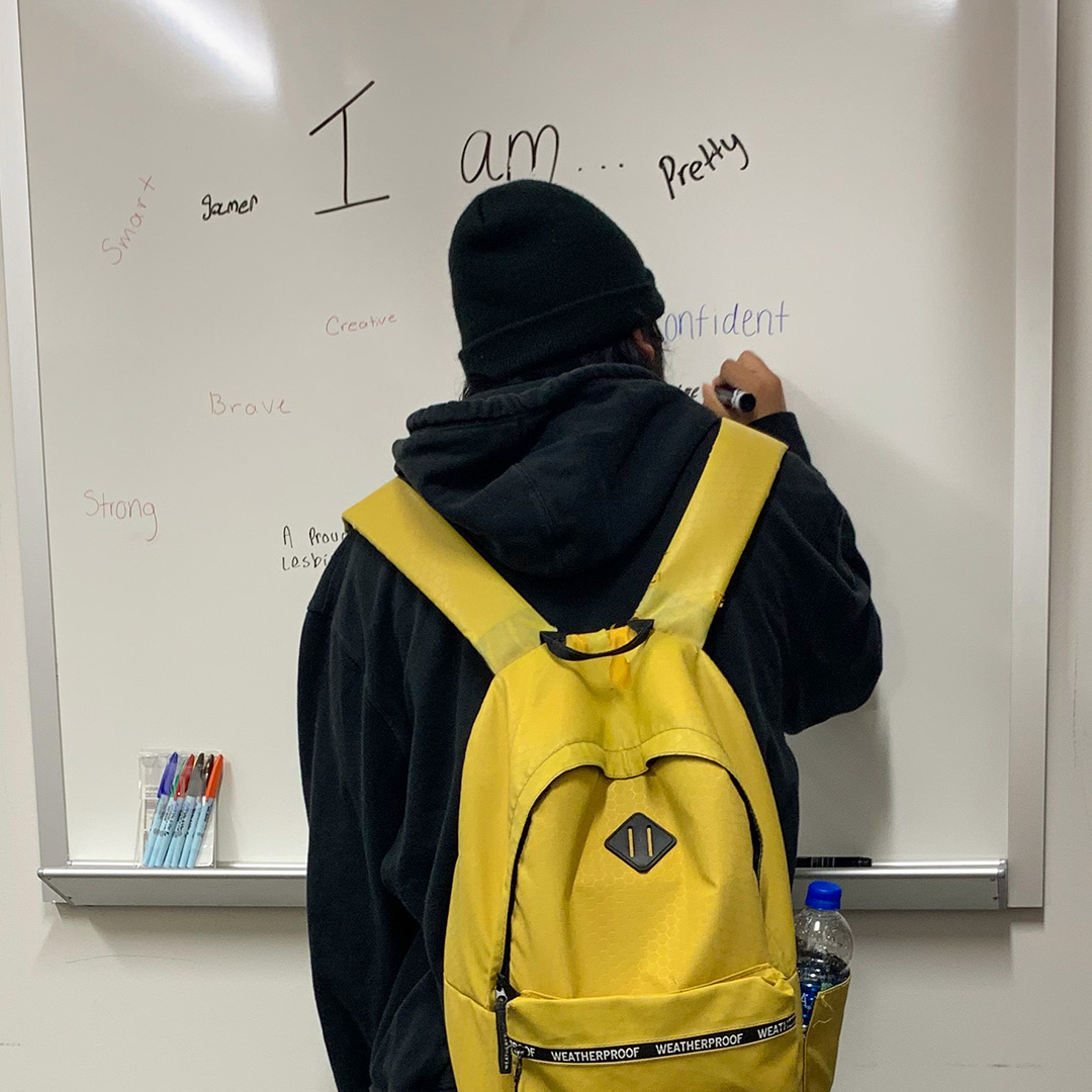 """I Am"" Wall Teaches Students Self-Esteem"