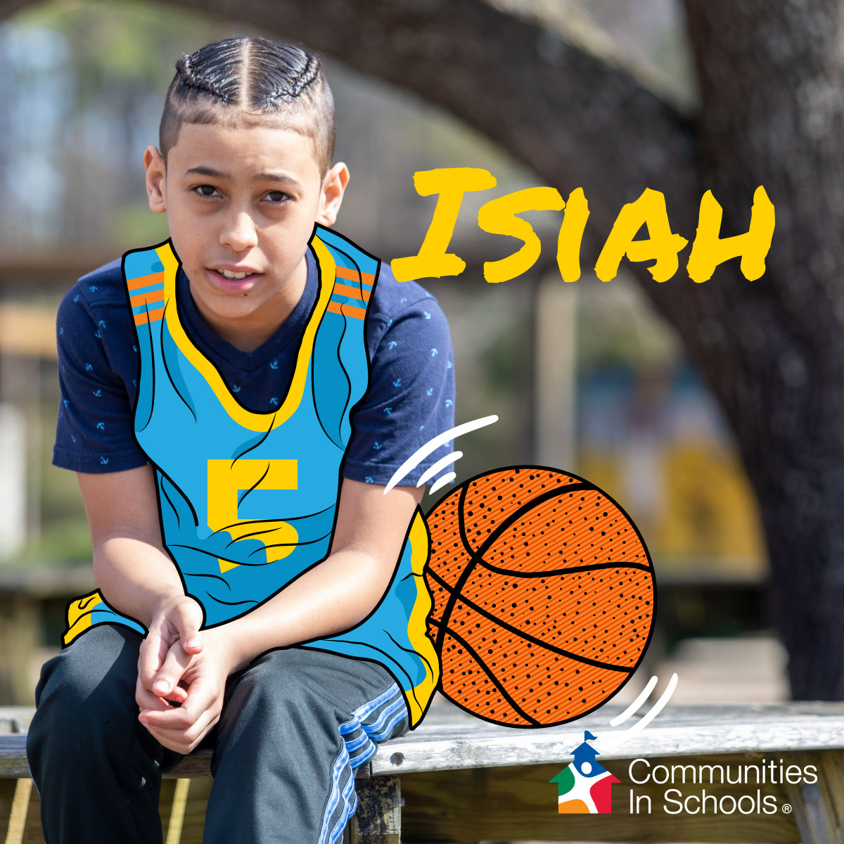 Join Us to Help Students Like Isiah Finish the School Year Strong!