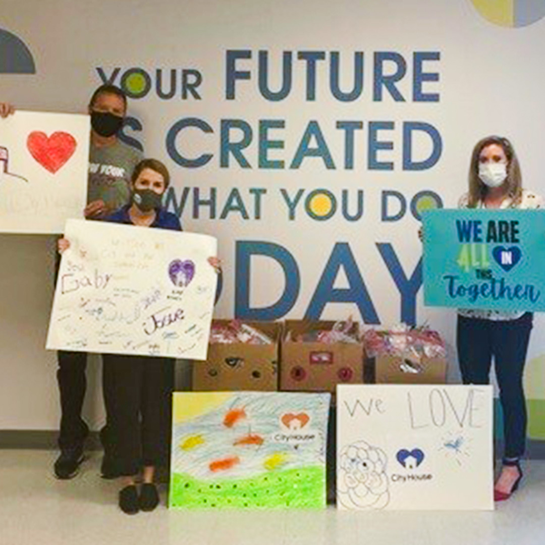 CISDR Students Give Back to Their Community