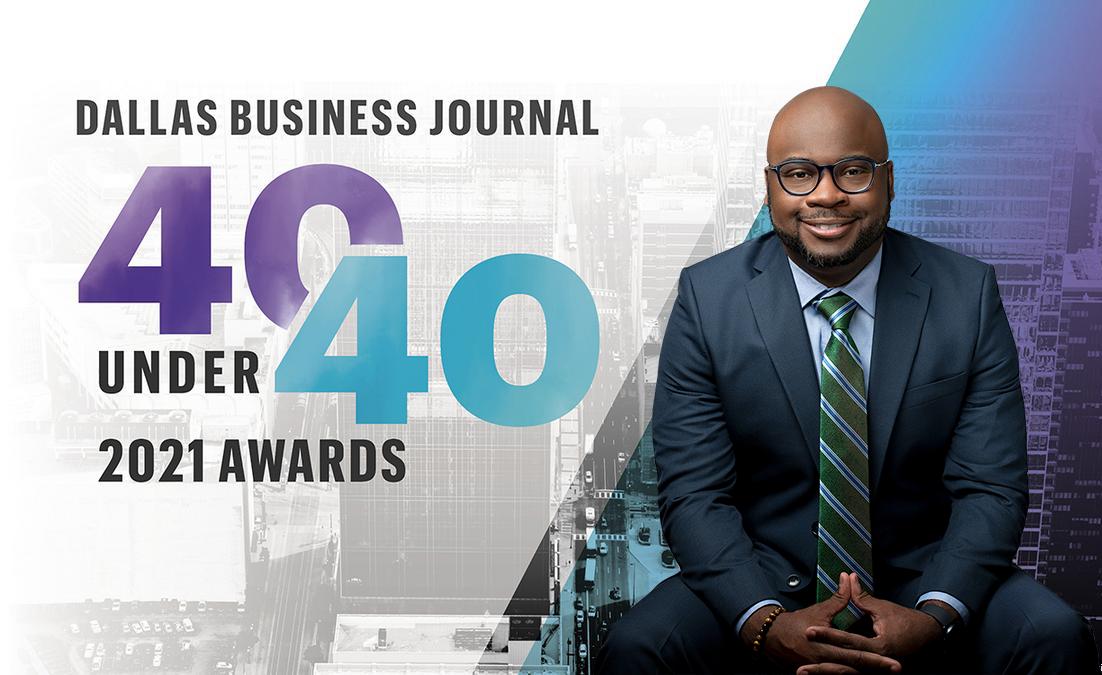 CISDR President & CEO, Adam Powell, is a Dallas Business Journal '40 Under 40′ recipient