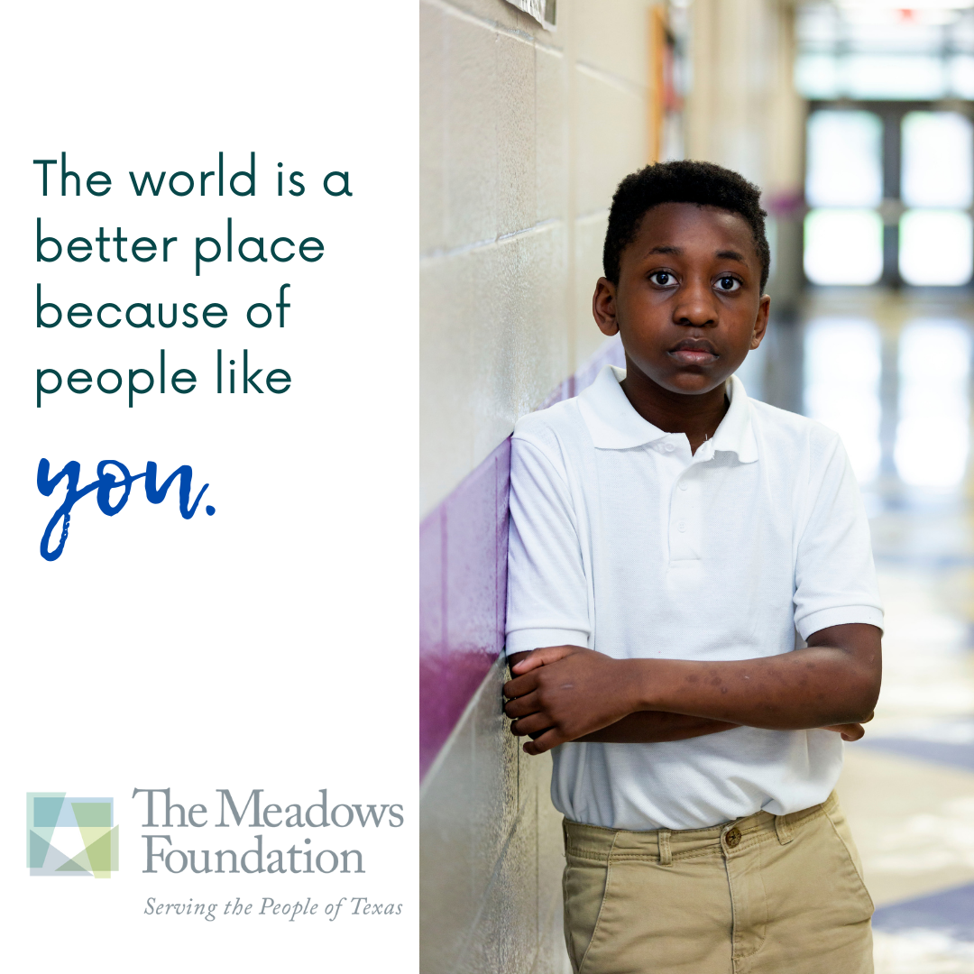 The Meadows Foundation Commits $200,000 to Support Youth Mental Health Services